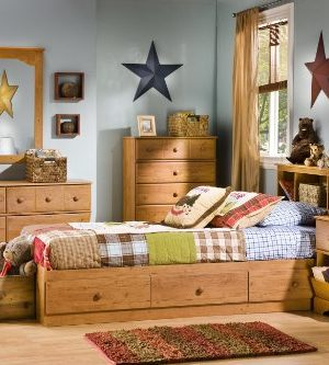 South Shore Little Treasures 6 Drawer Double Dresser Country Pine 0 2 300x333