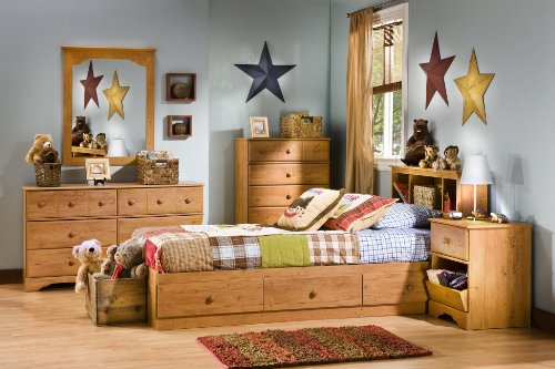 South Shore Little Treasures 6 Drawer Double Dresser Country Pine 0 2