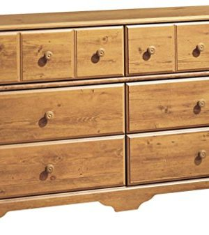 South Shore Little Treasures 6 Drawer Double Dresser Country Pine 0 300x337