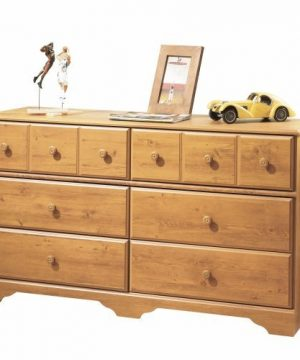 South Shore Little Treasures 6 Drawer Double Dresser Country Pine 0 5 300x360