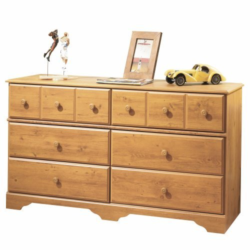 South Shore Little Treasures 6 Drawer Double Dresser Country Pine 0 5