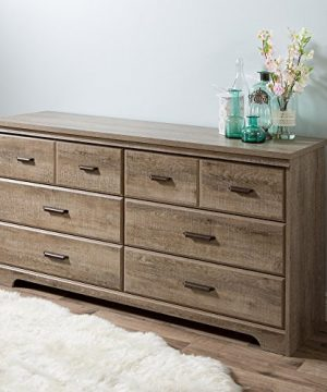 South Shore Versa 6 Drawer Double Dresser Weathered Oak 0 2 300x360