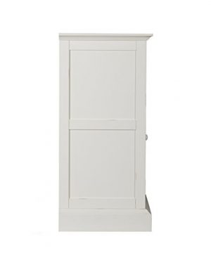 Southern Enterprises Antebellum Media Electric Fireplace 48 Wide Antique White Finish 0 3 300x360