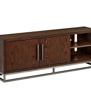Stone Beam Glenwood Entertainment TV Console Media Stand 68W Oak 0 300x360