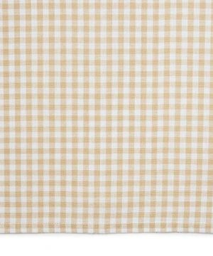 Town Country Living Gingham Tablecloth FarmhouseIndoorOutdoorPicnic 100 Woven Cotton Stain Resistant Machine Washable 60x84 Biege 0 1 300x360
