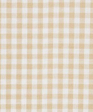 Town Country Living Gingham Tablecloth FarmhouseIndoorOutdoorPicnic 100 Woven Cotton Stain Resistant Machine Washable 60x84 Biege 0 2 300x360