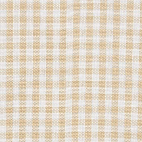 Town Country Living Gingham Tablecloth FarmhouseIndoorOutdoorPicnic 100 Woven Cotton Stain Resistant Machine Washable 60x84 Biege 0 2