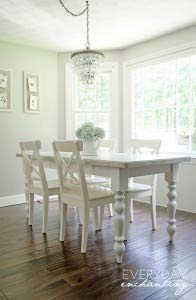 Transitional Country Dining Table Legs In Knotty Pine Set Of 4 0 4