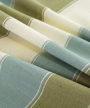 TruDelve Heavy Duty Cotton Linen Table Cloth For Square Table Farmhouse Tablecloth For Dining Table Dust Proof Table Cover For Tabletop Decoration 52x52 Green 0 0 300x360
