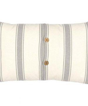 VHC Brands Boho Eclectic Farmhouse Pillows Throws Grace White Fabric 14 X 22 Pillow Creme 0 1 300x360