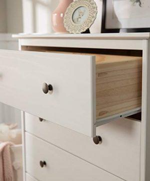 Walker Edison Tall Wood Dresser Bedroom Storage Drawer Organizer Closet Hallway 4 White 0 0 300x360