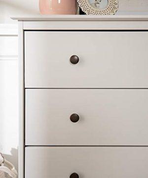 Walker Edison Tall Wood Dresser Bedroom Storage Drawer Organizer Closet Hallway 4 White 0 1 300x360