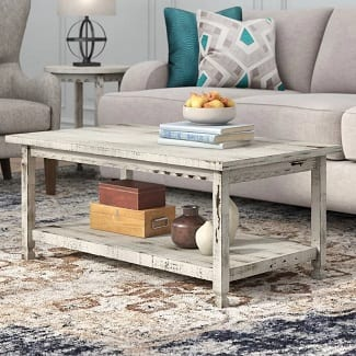 White Mangum Coffee Table