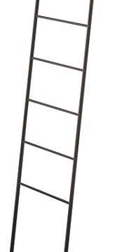 YAMAZAKI Home Leaning Ladder Rack Black 0 184x360