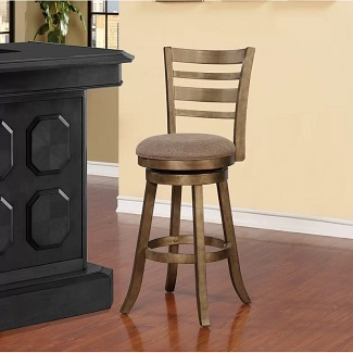 Zaquan Swivel Bar & Counter Stool
