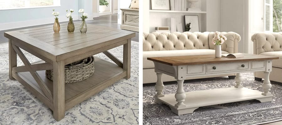 farmhouse coffee tables