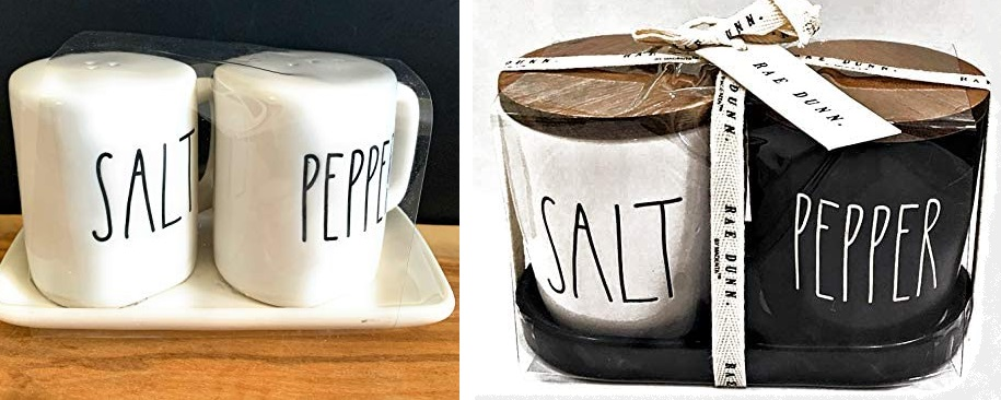 Pepper Shakers Rae Dunn by Magenta RAE DUNN Crown Salt