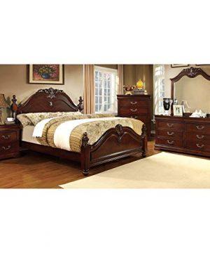 247SHOPATHOME Bedroom Furniture Sets California King Cherry 0 300x360