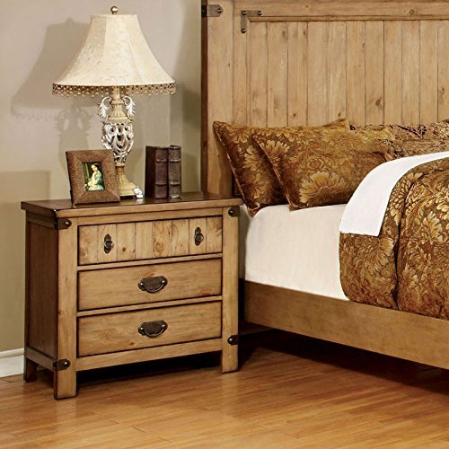 247SHOPATHOME Bedroom Set King Weathered 0 1