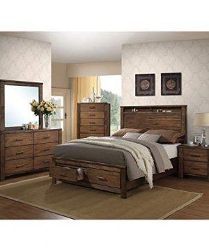 ACME Merrilee Queen Bed WStorage 21680Q Oak 0 300x360
