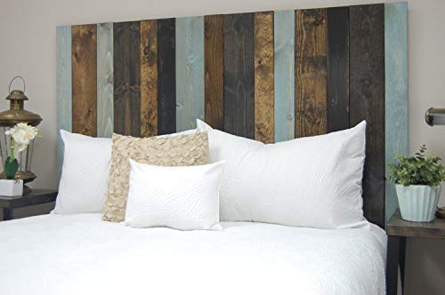 All Terrain Mix Headboard King Size Leaner Style Handcrafted Leans On Wall Easy Installation 0 0