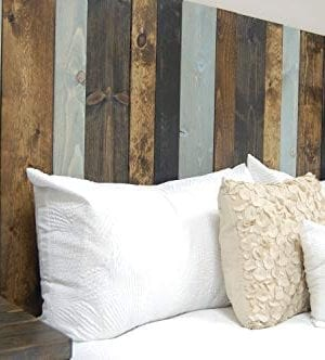 All Terrain Mix Headboard King Size Leaner Style Handcrafted Leans On Wall Easy Installation 0 1 300x332