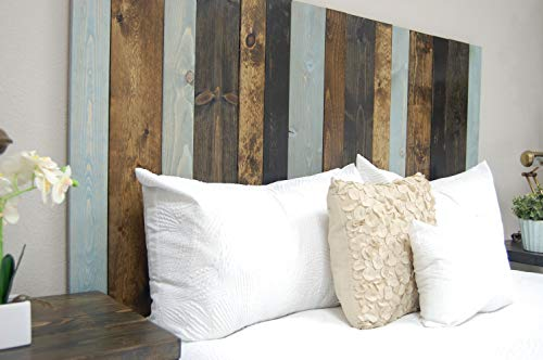 All Terrain Mix Headboard King Size Leaner Style Handcrafted Leans On Wall Easy Installation 0 1