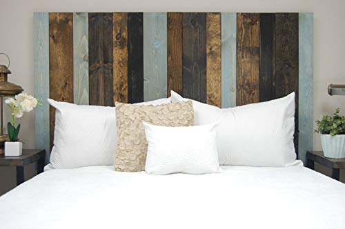 All Terrain Mix Headboard King Size Leaner Style Handcrafted Leans On Wall Easy Installation 0 2