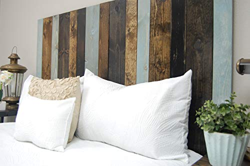 All Terrain Mix Headboard King Size Leaner Style Handcrafted Leans On Wall Easy Installation 0 3