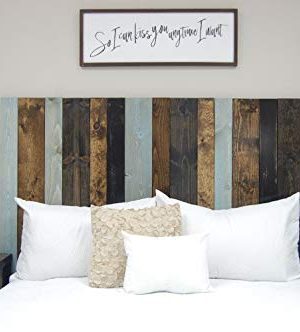 All Terrain Mix Headboard King Size Leaner Style Handcrafted Leans On Wall Easy Installation 0 300x332