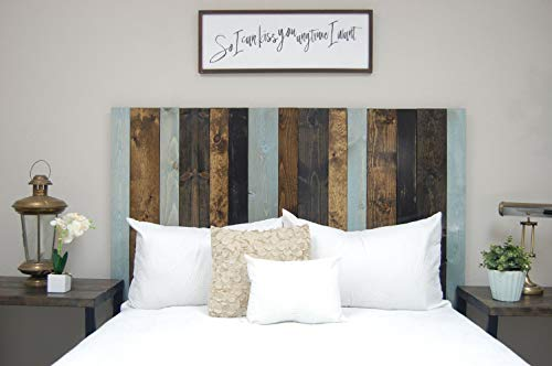 All Terrain Mix Headboard King Size Leaner Style Handcrafted Leans On Wall Easy Installation 0