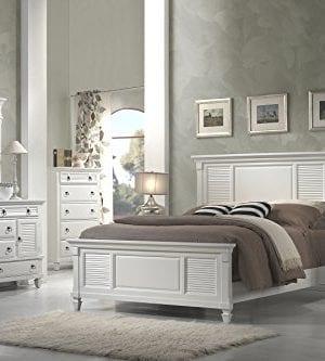 Alpine Furniture Winchester Nightstand 28 W X 17 D X 28 H White 0 3 300x333