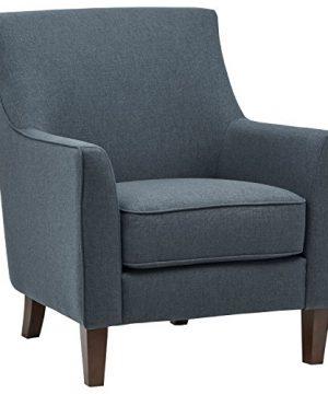 Amazon Brand Stone Beam Cheyanne Modern Living Room Accent Arm Chair 307W Denim 0 300x360
