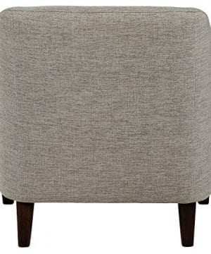 Amazon Brand Stone Beam Grover Modern Living Room Accent Chair 30W Grey 0 0 300x360