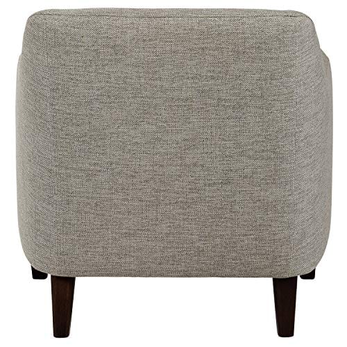 Amazon Brand Stone Beam Grover Modern Living Room Accent Chair 30W Grey 0 0