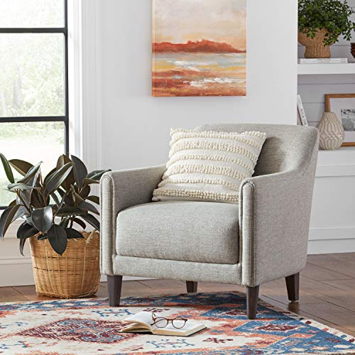 Amazon Brand Stone Beam Grover Modern Living Room Accent Chair 30W Grey 0 3