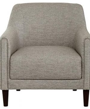 Amazon Brand Stone Beam Grover Modern Living Room Accent Chair 30W Grey 0 300x360