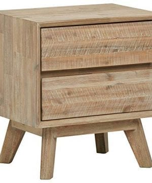 Amazon Brand Stone Beam Rylee Modern Nightstand 217W Acacia Mixed Gray 0 300x360