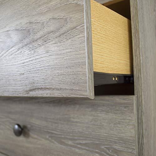 American Furniture Classics Five Piece Bedroom Set Grey 0 4