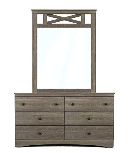 American Furniture Classics Five Piece Bedroom Set Grey 0 5