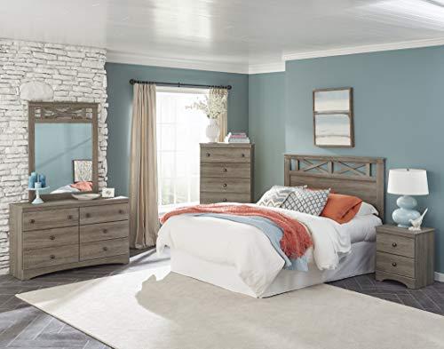 American Furniture Classics Five Piece Bedroom Set Grey 0