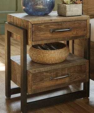 Ashley Furniture Signature Design Sommerford Nightstand Brown 0 0 300x360