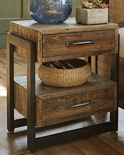 Ashley Furniture Signature Design Sommerford Nightstand Brown 0 0