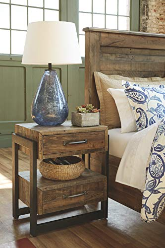 Ashley Furniture Signature Design Sommerford Nightstand Brown 0 2