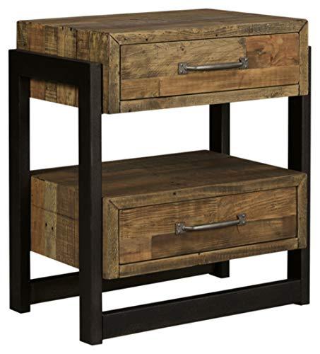 Ashley Furniture Signature Design Sommerford Nightstand Brown 0