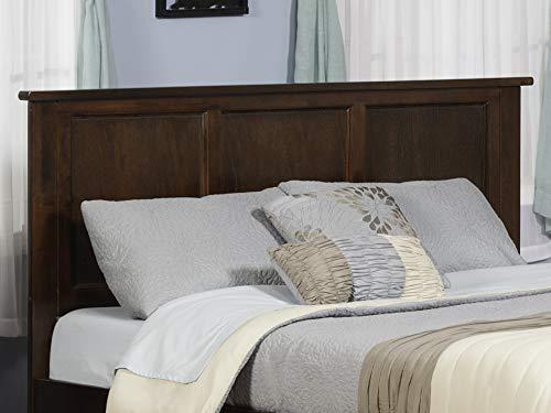 Atlantic Furniture Madison Headboard King Walnut 0 0