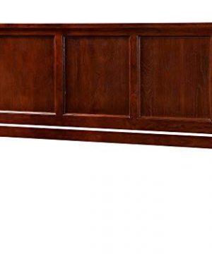 Atlantic Furniture Madison Headboard King Walnut 0 300x360