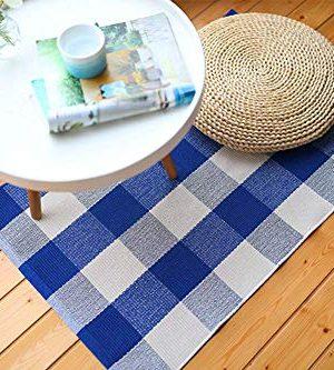 Buffalo Rug Outdoor Indoor Cotton Door Mat Check Plaid Rug For Living Room Kitchen 2x3 0 2 300x333