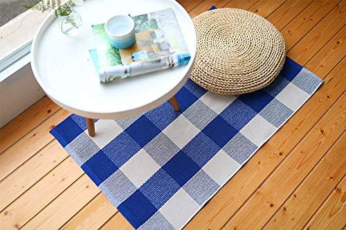 Buffalo Rug Outdoor Indoor Cotton Door Mat Check Plaid Rug For Living Room Kitchen 2x3 0 2