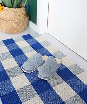 Buffalo Rug Outdoor Indoor Cotton Door Mat Check Plaid Rug For Living Room Kitchen 2x3 0 3 300x360